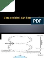 Beta Oksidasi Dan Ketogenesis