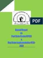 PSC FSIAnnualReport2012