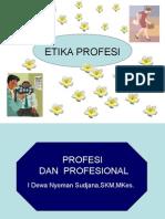Profesi Dan Profesional(1)