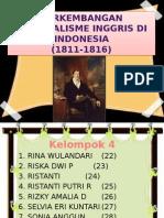 Perkembangan Kolonialisme Inggris Di Indonesia