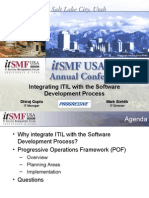 11022006 - Integrating ITIL With the Software Development Process - Annual