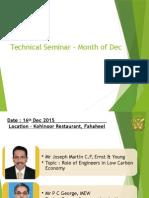 Technical Seminar ppt