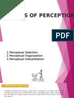 Elements of Perception