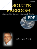 Absolute Freedom- The Essence of Teachings of Ramesh S. Balsekar
