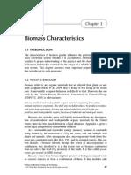 Biomass Characteristics