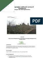 Thynghowe Topographic Earthwork Survey