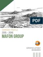 Mafon Company Brochure 2015