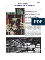 Death Row El Corredor de La Muerte