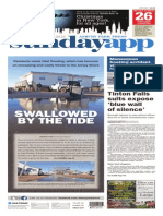 Asbury Park Press front page, Sunday, November 29, 2015
