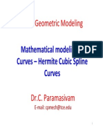 3 Hermite Cubic Curves