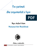 Tre Parimet Dhe Argumentet e Tyre - Shejkh Muhamed Ibn Abdulvehab