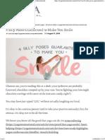 4 Silly Poses Guaranteed to Make You Smile _ Yoga International
