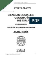 Ciencias Sociales Geografia e Historia 2 Eso Andalucia Adarve