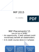 MIP 2015 Briefing (STD)