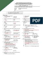 Soal UAS PBO Kelas XII