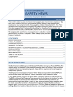 Good Examole for Safety News OMAO Safety News Jan 2012