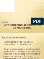 Introduccion Al C INTRODUCCION AL CONCEPTO DE MARKETINGoncepto de Marketing
