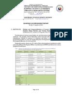 NFPDD 2015 3rd Quarter Report 2