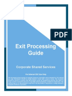 Exit Processing Guide