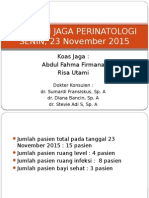 Laporan Jaga PERINA 23 November 2015 (Fix)