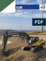 EC140D_EC160D_EC220D Excavator Product Brochure