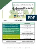 aitsl graduate recognition xiaowei lin ecertificate 2015  1