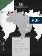 Síntese Da Evolução Geológica e Metalogenética Do Brasil, 1994