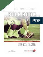 CFL Reglas 2013_2