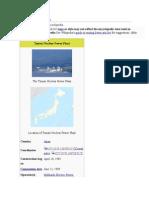 Tomari Nuclear Power Plant