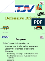 Defensive Driving CTJV QGII