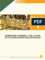 MÓDULO-1 lucha trabajadores subcontratados