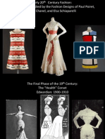 Fashion of early 20th Century Part1