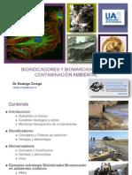 Bioindicadores y Biomarcadores de Contaminacion