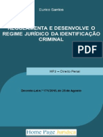 Regulamenta a Lei de Identificação Criminal 02out15