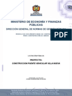 2014 DBC- LP- Puente Villa Nueva