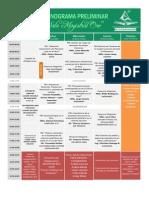Cronograma Oficial Geosur - Conaeingeo 2015