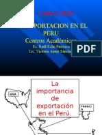 La Exportacion en El Peru