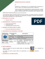 Informe Almacen Procesos de Manufactura Alex