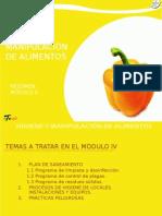 Modulo 4 Manip de Alimentos
