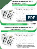 ResponseCard RF Programming