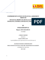 Comprehensive Study of Financial Assessment Through