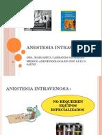 Anestesia Intravenosa Clase