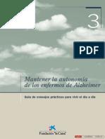 Mantener la Autonomia de la Enfermedad de Alzheimer