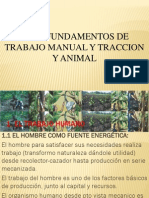 3trabaj Manual y Traccion Animal