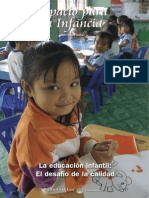 La Educacion Infantil El Desafio de La Calidad