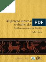 Migracao Internacional e Trabalho Domestico