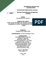 Monografia Ruta Del Agua