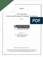 teacher and principal evaluation guidebook