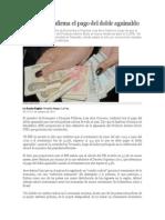 Gobierno Confirma El Pago Del Doble Aguinaldo