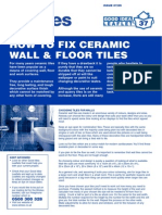 How to Fix Ceramic Tiles